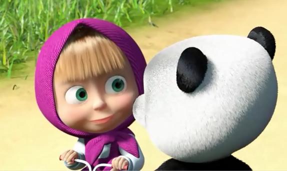 смотрите онлайн мультфильм маша и медведь: